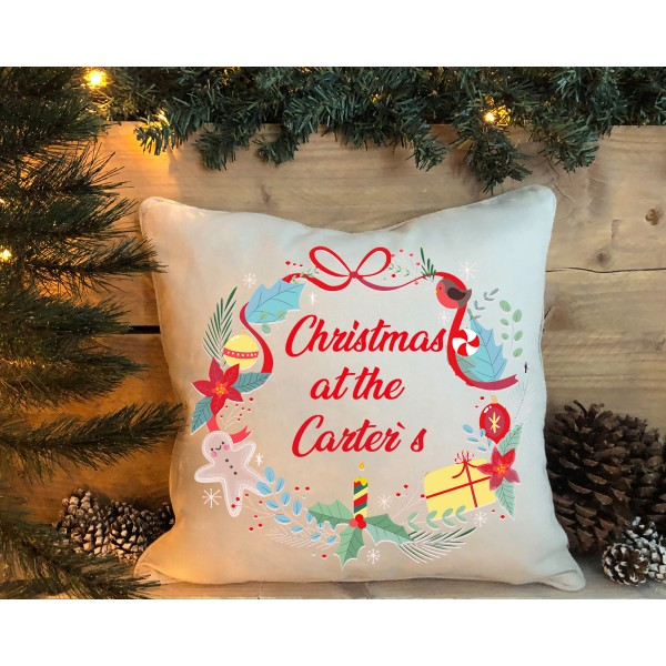 Christmas Cushion 1