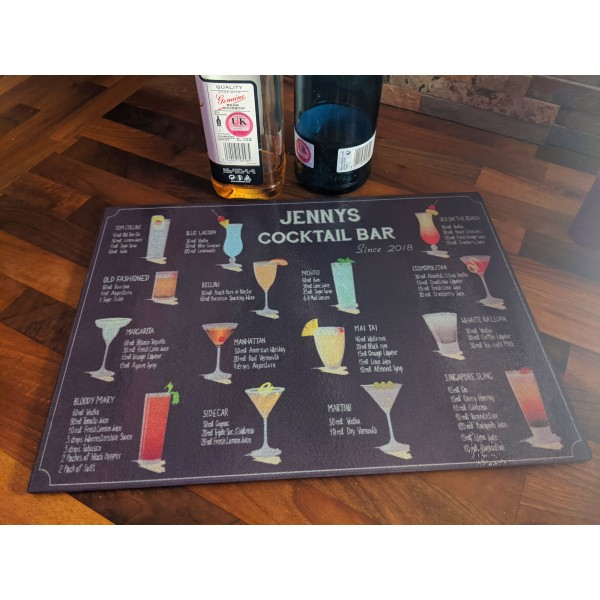 Cocktail Chopping Board