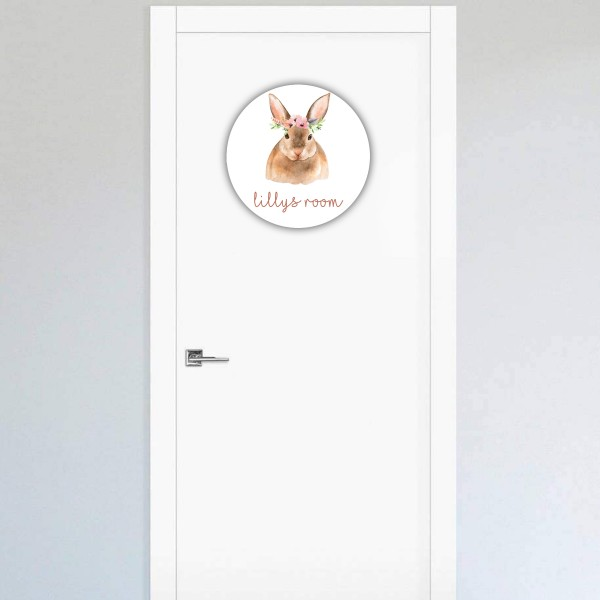 Animal Door Sign