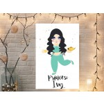 Personalised princess canvas