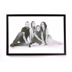 Your Image On Framed Canvas