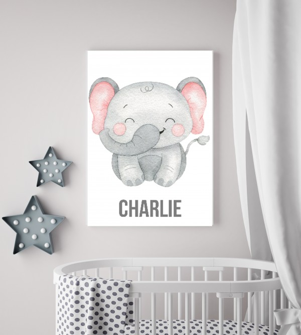 Personalised animal canvas