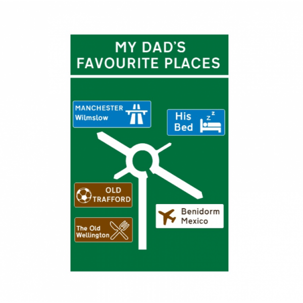 Favourite Places - Road Sign
