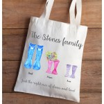 Welly Canvas Tote Bag