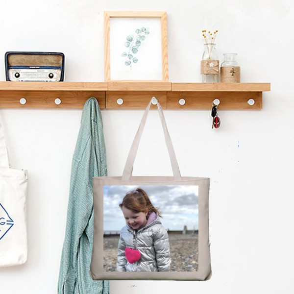 Photo Canvas Tote Bag