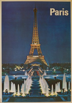 Eifel Tower - Paris Poster