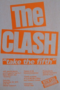 The Clash Take the Fifth